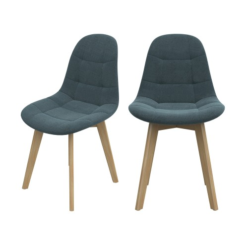 acheter chaise gris fonce scandinave