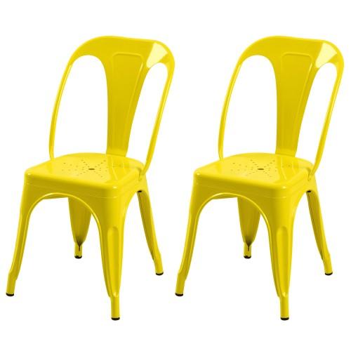 acheter chaise indus jaune