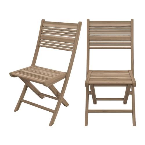 acheter chaise pliante de jardin en bois