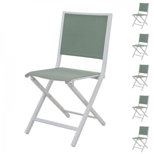 acheter chaise pliante vert amande