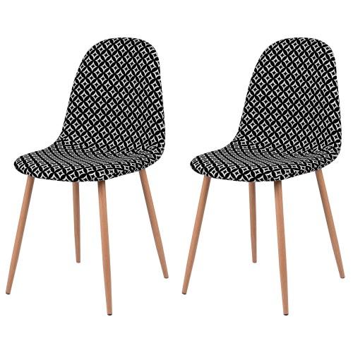 acheter chaise style seventies