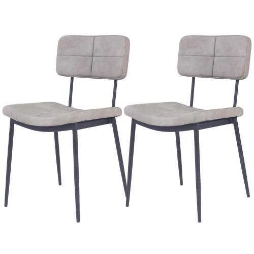 acheter chaise vintage grise