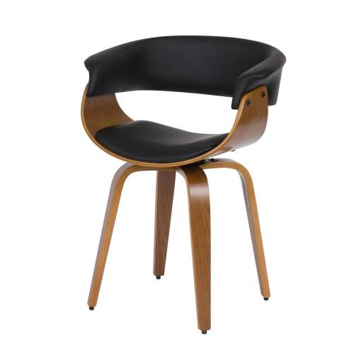acheter chaise vintage noire