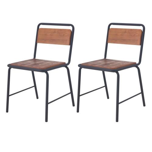 acheter chaises ecolier bois et metal