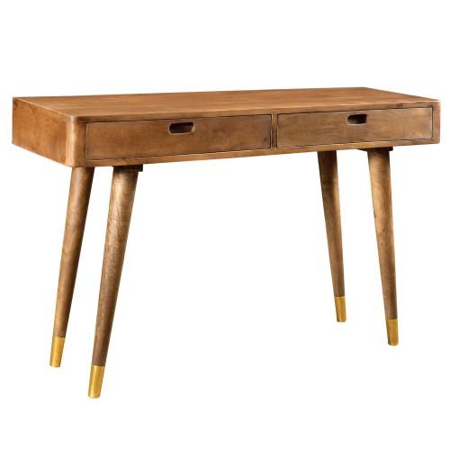acheter console en bois 2 tiroirs
