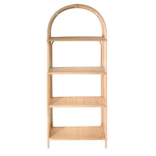 acheter etagere 4 niveaux en rotin