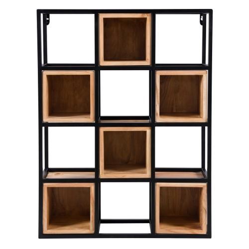acheter etagere 6 casiers en bois