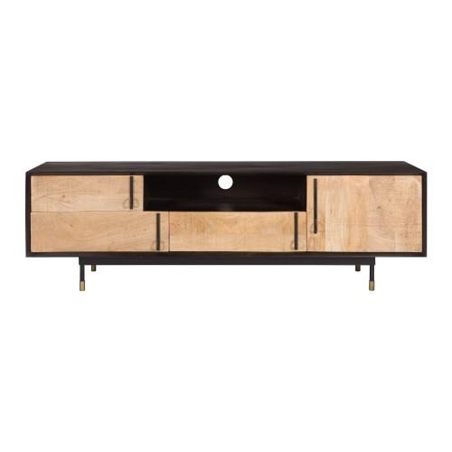 acheter etagere tiroirs portes bois metal