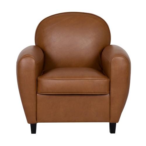 acheter fauteuil club marron
