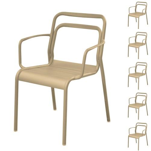 acheter fauteuil empilable design exterieur