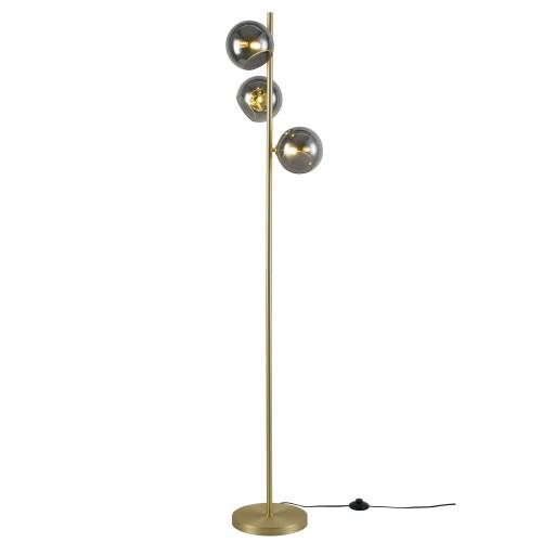 acheter lampadaire dore 3 boules