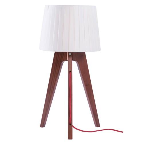 lampe de chevet freya bois fonce salon