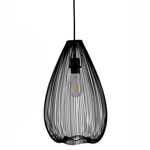 acheter lampe a suspendre noire mate