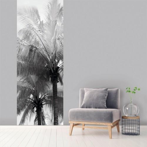 acheter le vertical palmier noir et blanc 100 x 270