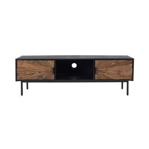 acheter meuble tv en bois et metal
