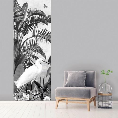 acheter papier peint 100 x 270 cm noir et blanc