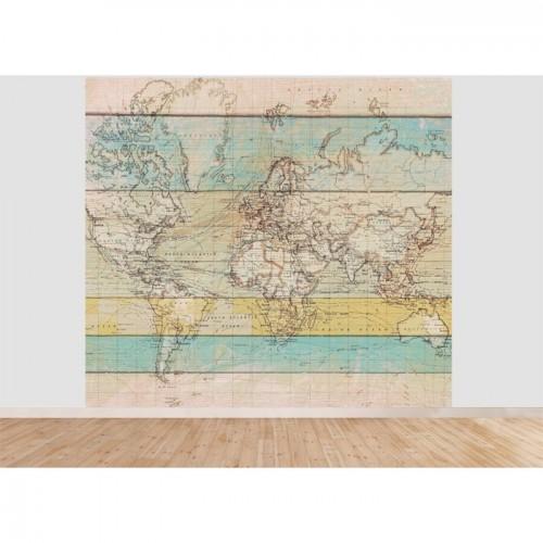 acheter papier peint monde 300 cm