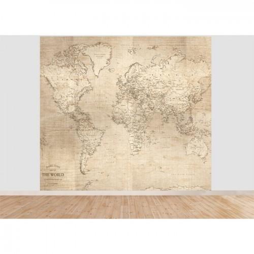 acheter papier peint panoramique monde