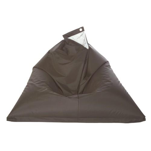 acheter pouf gris fonce confortable
