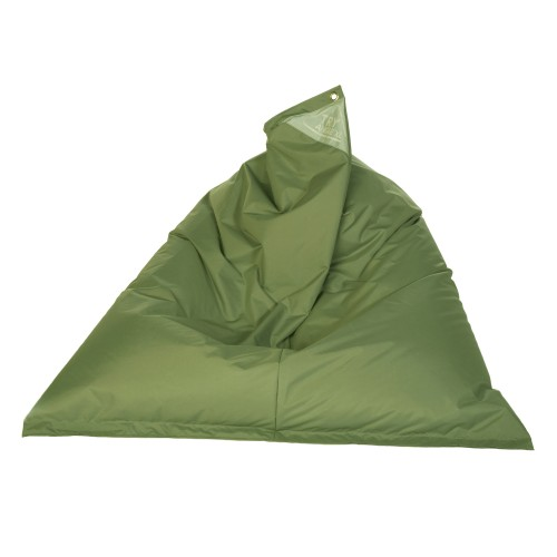 Pouf XL inclinable Mina olive