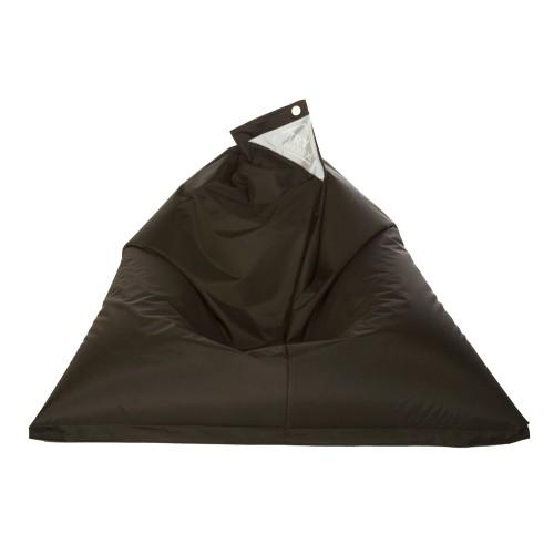 acheter pouf noir confortable