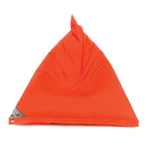 Pouf inclinable Mina orange