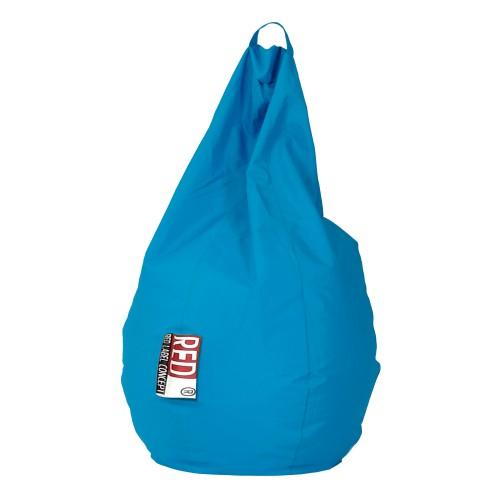 Pouf poire Loly turquoise pour enfant