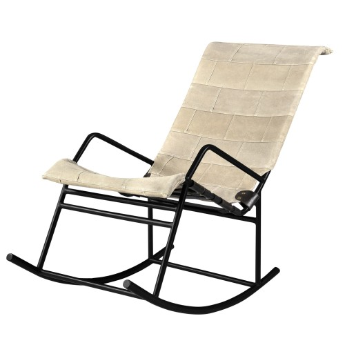 acheter rocking chair beige