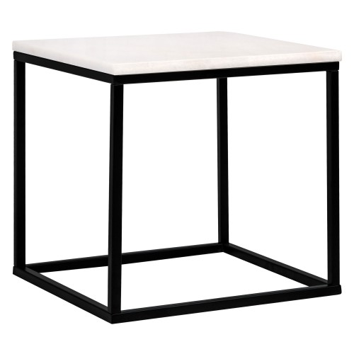 acheter table appoint carree blanche