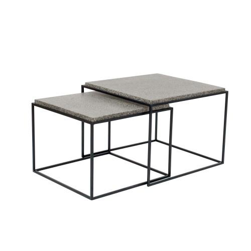 acheter table basse carree gigogne