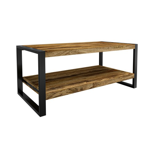 acheter table basse rectangulaire industrielle