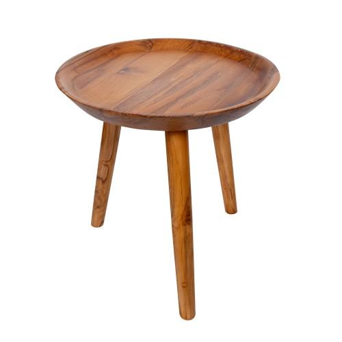 acheter table basse ronde bois