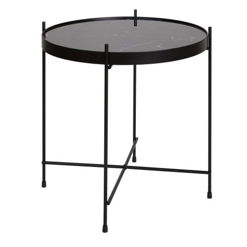 acheter table basse ronde en metal