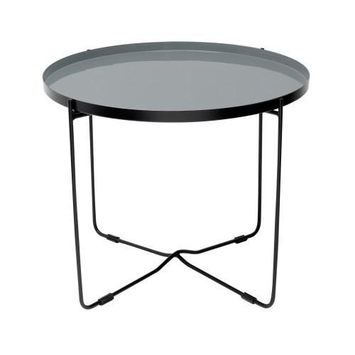 acheter table basse ronde metal