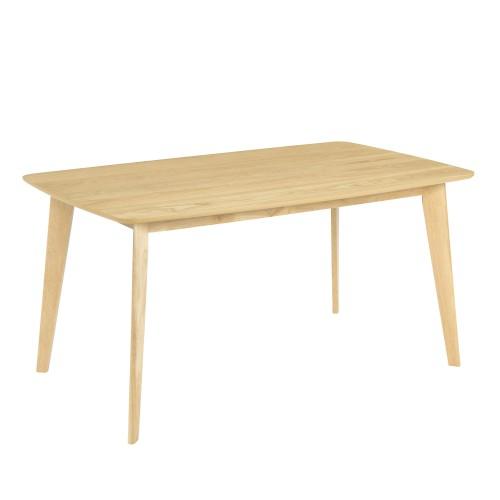acheter table bois clair rectangulaire