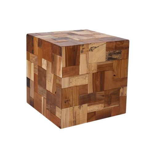 acheter table carre en bois