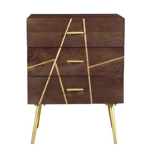 acheter table de chevet 3 tiroirs