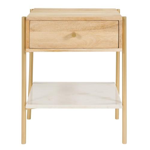 acheter table de chevet une etagere 1 tiroir