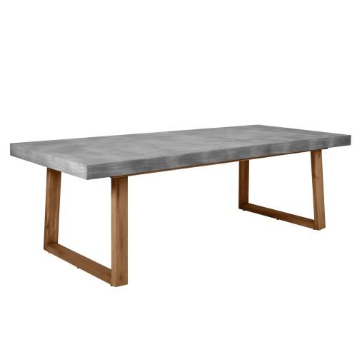 Table rectangulaire Carillo 240 cm en béton