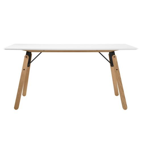 acheter table rectangulaire blanche