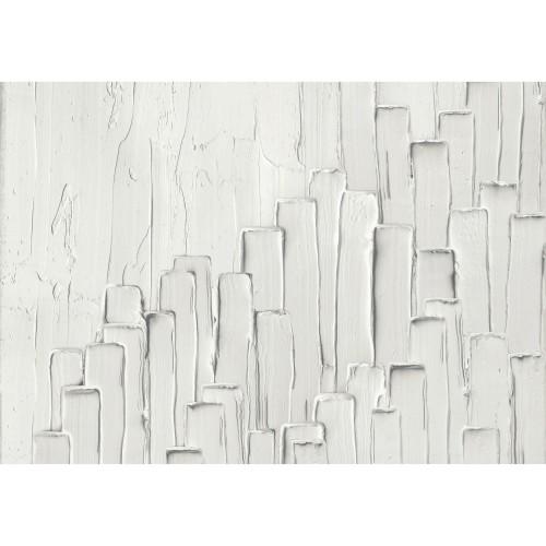 acheter tableau en verre effet peinture blanche
