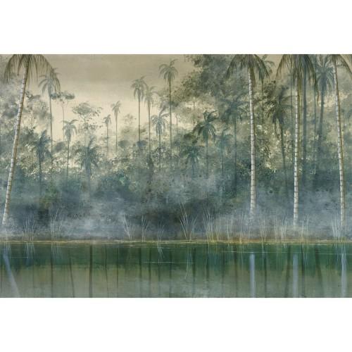 acheter tableau en verre foret amazonienne