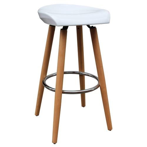 tabouret de bar helio blanc asseyez vous sur l 39 un de nos tabourets de bar helio blancs rdv d co. Black Bedroom Furniture Sets. Home Design Ideas