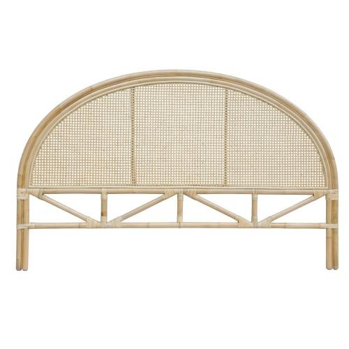 acheter tete de lit rotin 160 cm