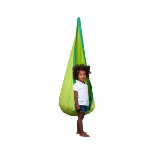 nid hamac jeunes tissu vert