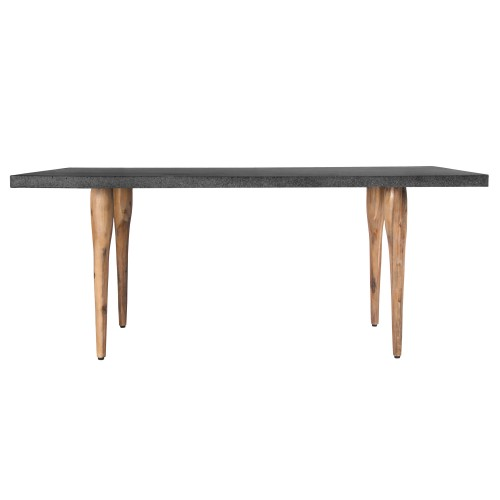 Table rectangulaire katla bois lavastone