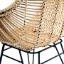 achat fauteuil collection jungle pieds metal