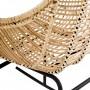 acheter fauteuil rocking chair design beige