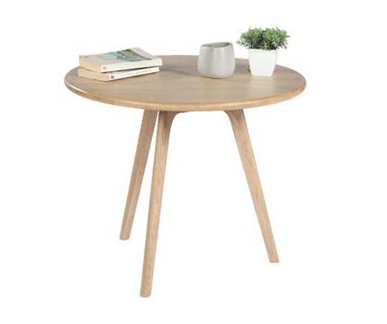 blog vente priv e num ro 33 la table basse en ch ne native ronde. Black Bedroom Furniture Sets. Home Design Ideas
