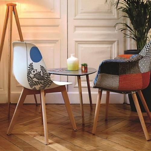 chaise artiste oiseau RDV DECO